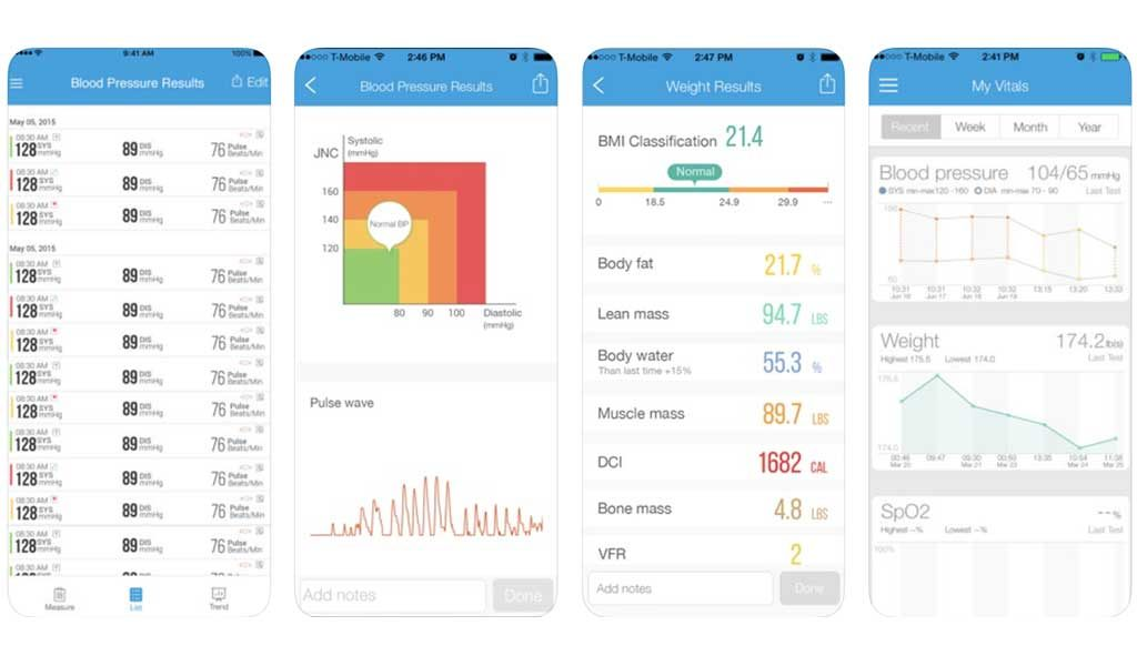 iHealth iOS Application