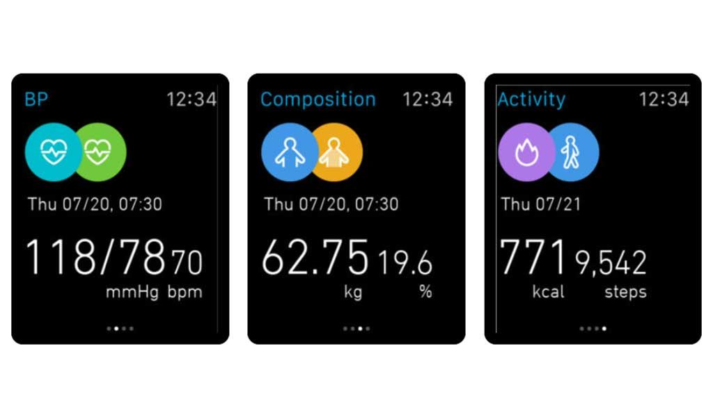 Omron iWatch Application