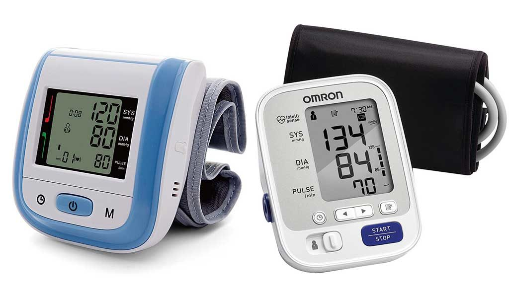 Blood Pressure Monitors Types